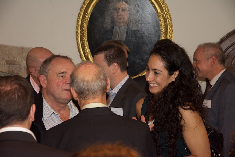 Our Chairman at a Cambridge 100 dinner
